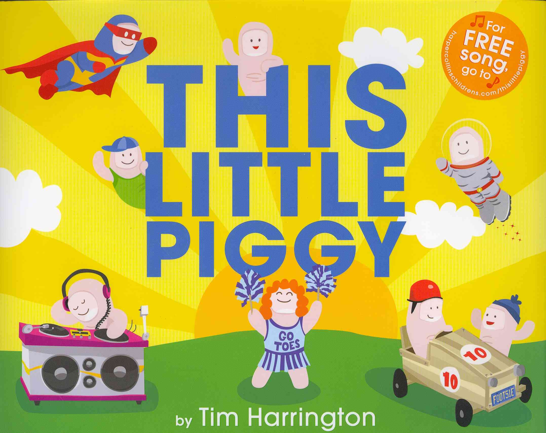 This Little Piggy By Harrington, Tim/ Harrington, Tim (ILT)